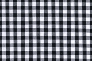 Picture of Black Check poplin