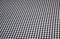Zwart - Wit ruitje poplin