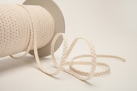 Ecru Elastic Ribbon 5 mm-2