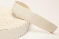 Ecru elastiek 40 mm