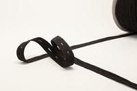 Zwart Knoopsgaten Elastiek 18 mm-2