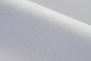 Picture of White (Optical White) wristband fabric 1x1 (with elastane)