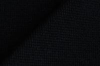 Zwarte boordstof 1x1 (met elastan)