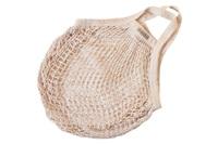 Natural granny bag/string bag