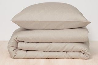 Picture of Delta Sand duvet cover sateen