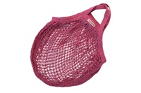 Fuchsia granny bag/string bag