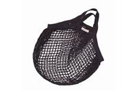 Anthracite granny bag/string bag
