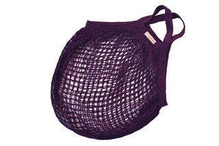 Picture of Plum granny bag/string bag