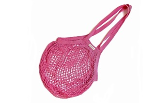 Picture of Fuchsia Granny bag/string bag (long handle)