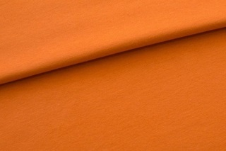 Picture of Cinnamon Orange wristband fabric 1x1 (with elastane)