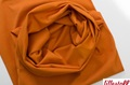 Cinnamon Orange boordstof 1x1 (met elastan)