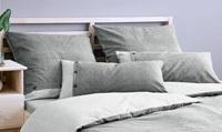 Fontanta Grey pillowcases flannel (SALE)-2