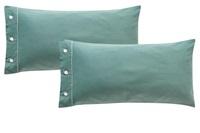 Frankfurt Jade pillowcases sateen