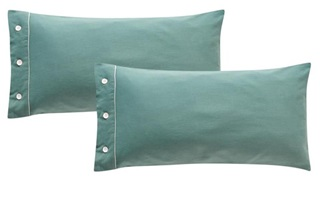 Picture of Frankfurt Jade pillowcases sateen