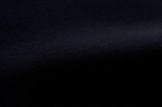 Afbeelding van Donkerblauwe boordstof 1x1 (met elastan)