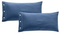 Frankfurt Blue pillowcases sateen (SALE)