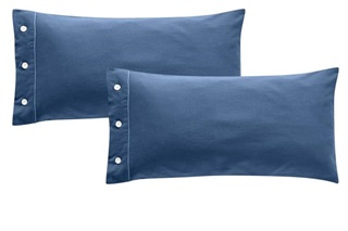 Picture of Frankfurt Blue pillowcases sateen