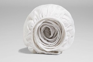 Picture of Pure White Fitted Sheet Sateen