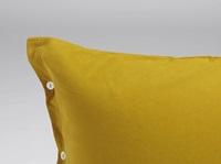 Indian Yellow pillowcase velvet flannel-2