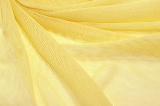 Picture of Yellow Cream soft tulle
