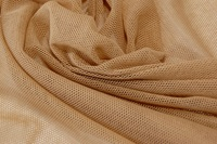 Tan soft tulle