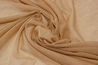 Tan soft tulle-2