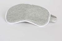 Eye mask White Grey melange