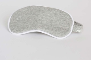 Picture of Eye mask White Grey melange