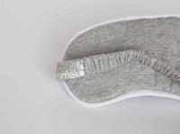 Eye mask White Grey melange-2