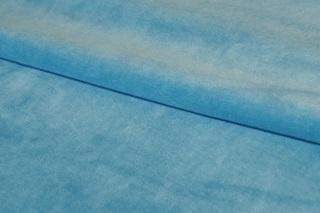 Afbeelding van Pagoda Blue velours