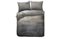 Gassho Grey Taupe duvet cover flannel