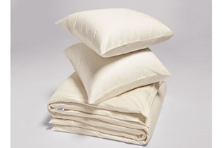 Picture of Natural duvet cover sateen