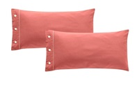 Frankfurt Blush pillowcases sateen