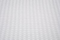 Ware-Tsuke Nagi White waffle plaid - coverlet (SALE)-2