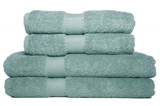 Picture of Mineral Green basic bath linen