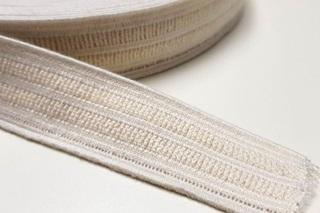Picture of Ecru Elastic Ribbon 25 mm