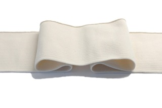 Picture of Natural White cuff 1x1 (with elastane)
