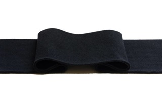 Picture of Black cuff 1x1 (with elastane)