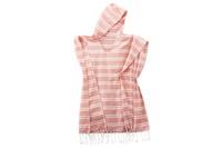 Blush Pink striped poncho