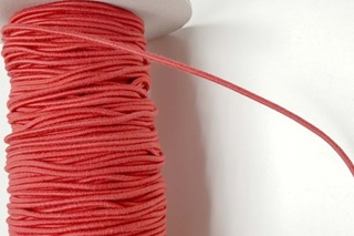 Picture of Red Elastic Cord 2,2 mm