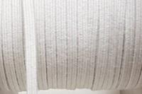 Ecru Elastic Ribbon 3 mm