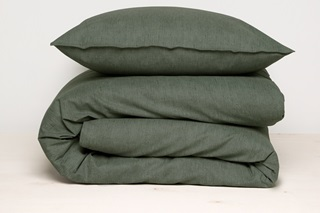 Picture of Birk Green duvet cover