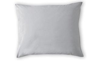 Afbeelding van Light Grey kussenslopen satijn