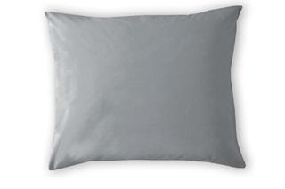 Afbeelding van Grey kussenslopen satijn