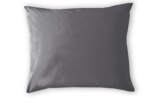 Picture of Anthracite pillowcases sateen