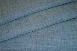 Picture of Aquamarine Chambray poplin