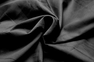 Afbeelding van Black katoensatijn (breedte 162 cm)