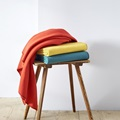 Red Clay fleece plaid