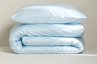 Picture of Sky Blue duvet cover sateen