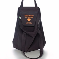 Anthracite tote XL canvas-2